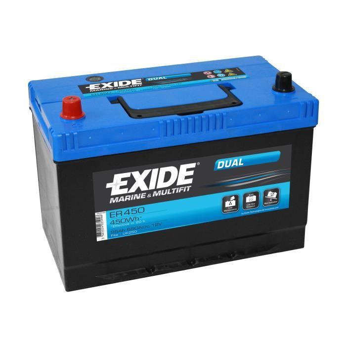 Batterie marine DUAL 95 Ah EXIDE