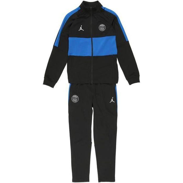 NIKE Ensemble survêtement de jogging PSG DRY STRK TRK SUIT K4TH JR 1 - Enfant - Noir