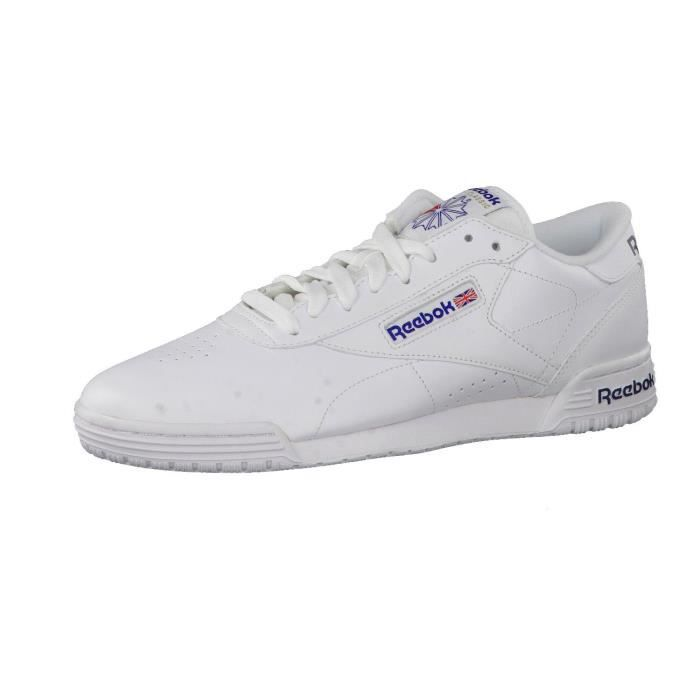 REEBOK Exofit hommes Lo Clean Logo Baskets bas-top S9FYT Taille-35
