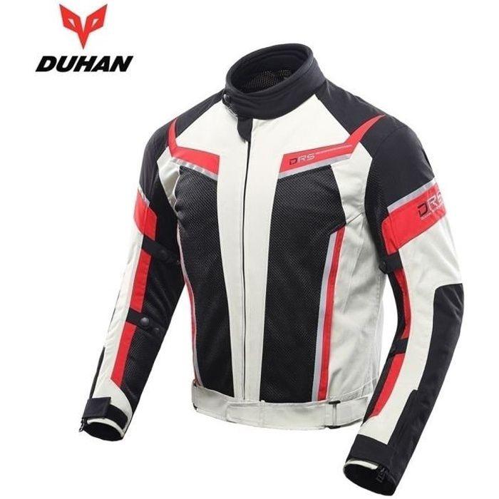 DUHAN Equipement moto Equipement moto Equipement motocross blouson de veste moto blouson moto homme vêtements