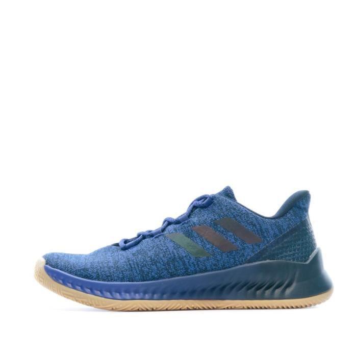 Harden B/E X chaussures de basketball bleues homme Adidas