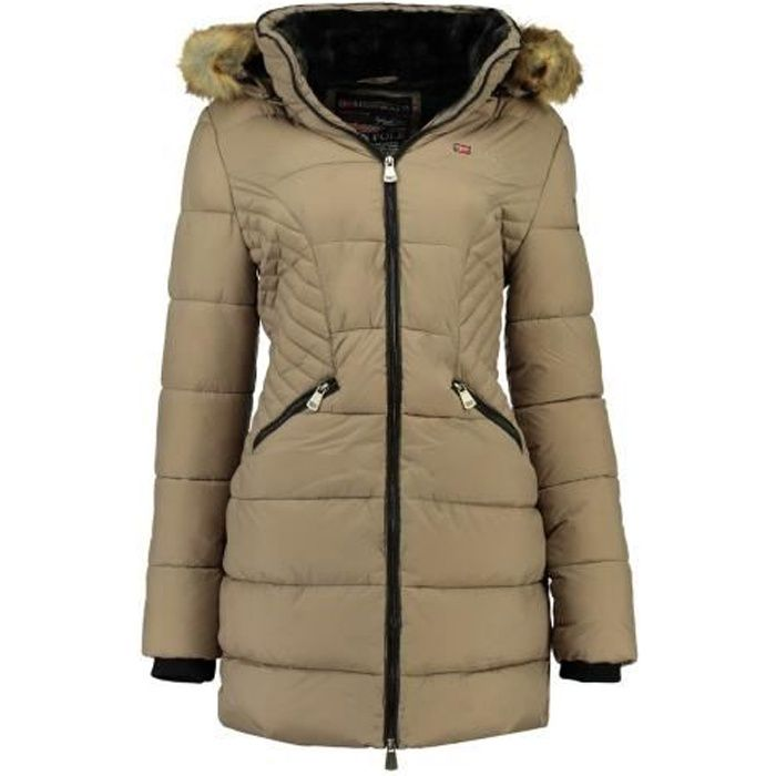 Doudoune Femme Geographical Norway Abeille Taupe