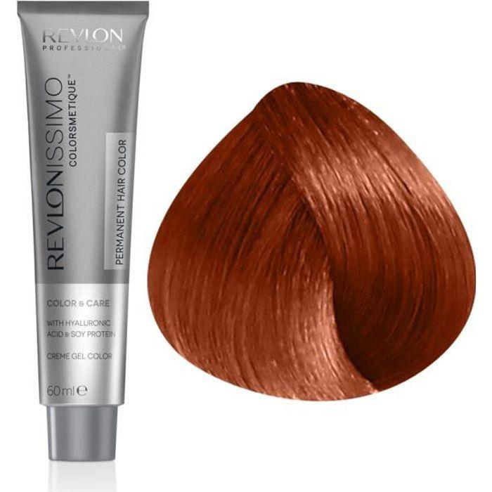 Revlon Coloration soin haute performance 7.44 : Blond Cuivré Profond , 60ml