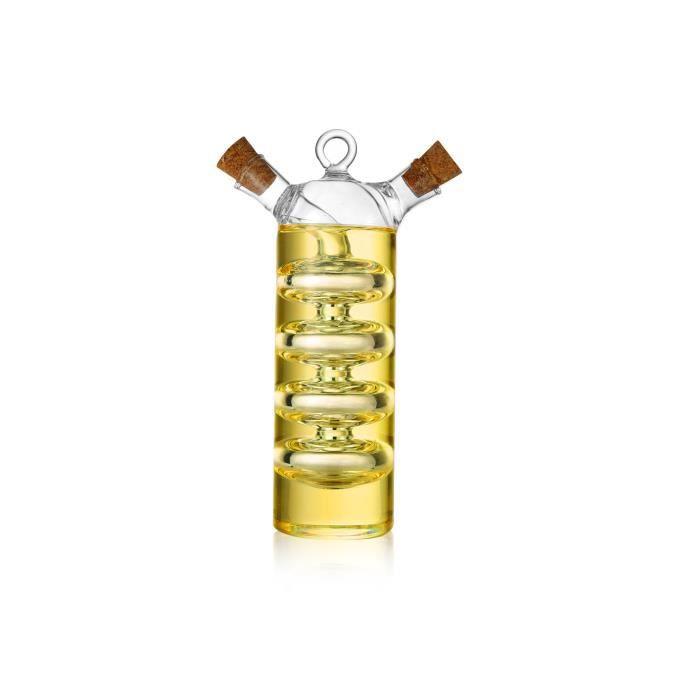 Bouteille distributrice à double verre d'huile d'olive et de vinaigre (VB9)