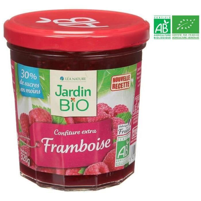JARDIN BIO Confiture de framboise - 320g