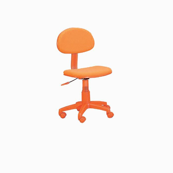 fauteuil de bureau enfant iris coloris orange achat vente chaise de bureau orange cdiscount. Black Bedroom Furniture Sets. Home Design Ideas