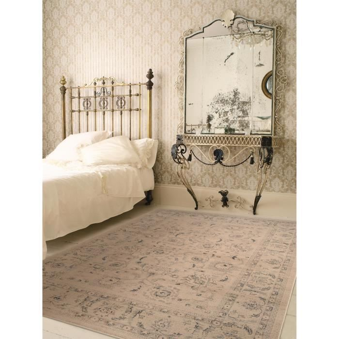 benuta tapis orient oriental vintage beige 140x200 cm achat vente tapis cdiscount. Black Bedroom Furniture Sets. Home Design Ideas