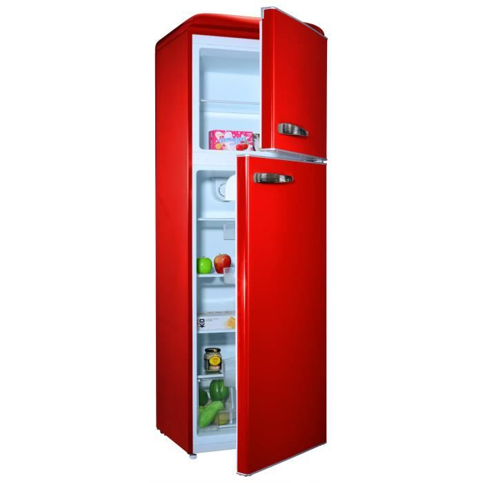 refrigerateur congelateur couleur rouge achat vente. Black Bedroom Furniture Sets. Home Design Ideas