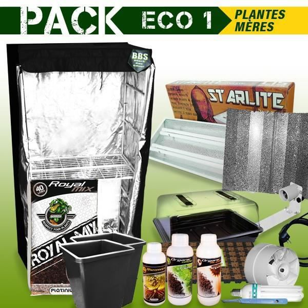 pack box plantes meres boutures eco 1 achat vente chambre de culture pack box plantes. Black Bedroom Furniture Sets. Home Design Ideas
