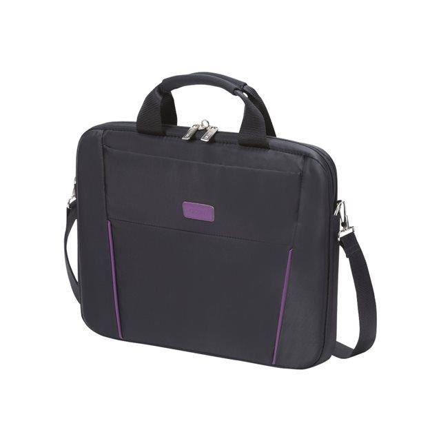 "SACOCHE INFORMATIQUE Dicota Slim Case BASE 12-13.3"" black/purple"