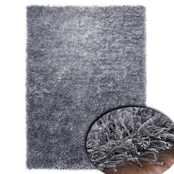 tapis shaggy gris esprit home 70 x 140 cm achat vente tapis cdiscount. Black Bedroom Furniture Sets. Home Design Ideas