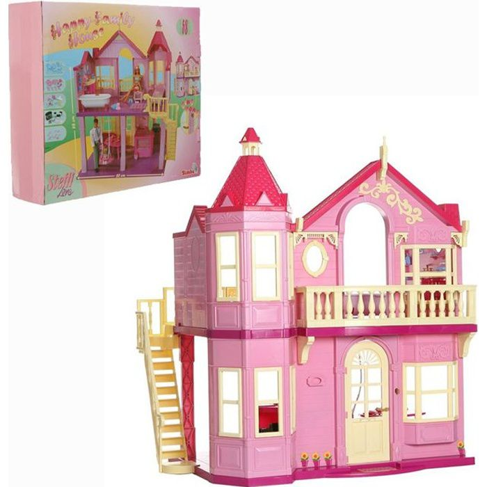 maison de r ve maison de reve barbie. Black Bedroom Furniture Sets. Home Design Ideas