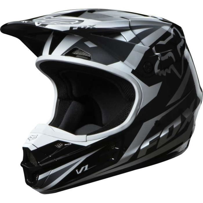 casque moto cross fox v1 race 2014 alliant confort. Black Bedroom Furniture Sets. Home Design Ideas