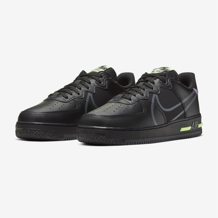 Air Force 1 React Chaussures Baskets Airforce One pour Femme Homme ...