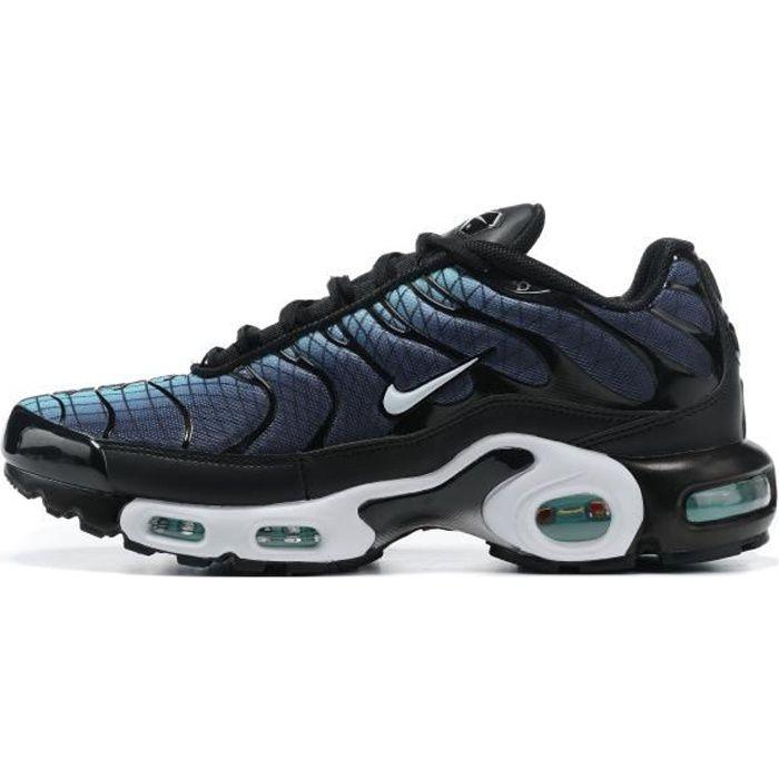 Baskets Nikes Airs Max Plus TN Chaussures pour Homme Femme Noir ...