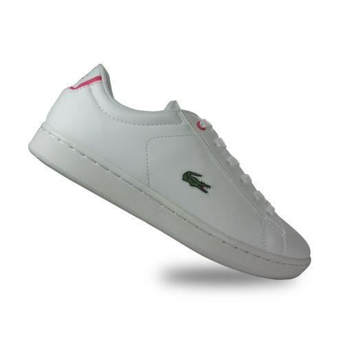 LACOSTE - Chaussure enfant Carnaby Evo Spc Lacoste - (rose - 32)