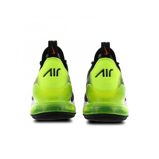 air max 270 noir et vert fluo junior