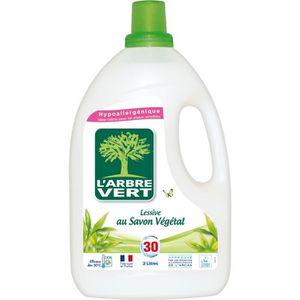 LESSIVE L'Arbre Vert Lessive Liquide - Savon Végétal - 2 L