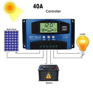 COMMANDE ECLAIRAGE 40A MPPT suivi solaire automatique de contrôleur d