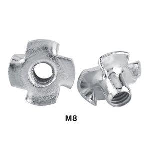 BOULON - ÉCROU Ecrous en T M8 acier galvanisé
