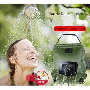DOUCHE SOLAIRE Sac de Douche Solaire 20L Portable pour Camping Ra