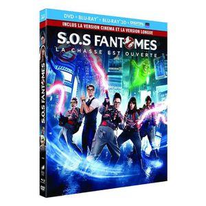 DVD FILM SOS Fantômes [Combo Blu-ray 3D + Blu-ray 2D versio