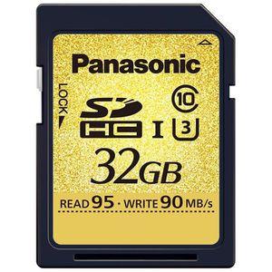 CARTE MÉMOIRE Panasonic RP-SDHCUD32GAK Carte mémoire SDHC Classe