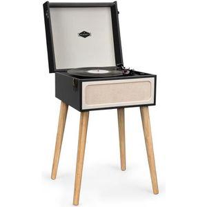 PLATINE VINYLE auna Sarah Ann Platine disque vinyle Bluetooth - E