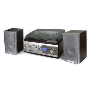 CHAINE HI-FI Chaine mini hifi platine tourne disque CD MP3 SD