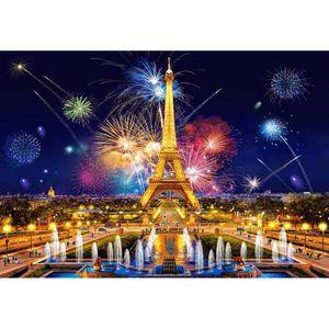 PUZZLE Puzzle 1000 pièces Glamour of the Night, Paris