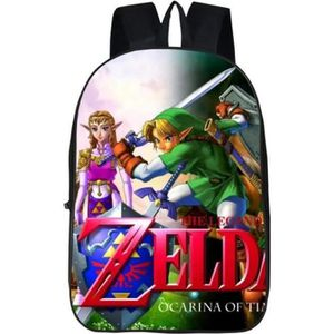 The Legend of Zelda sac à dos FULLCOLORS Sac à Dos Garçons Cartable Zip LAPTOPBAG