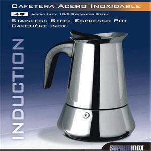 CAFETIÈRE - THÉIÈRE JINDING Cafetière INOX 4 Tasses VENUS INDUCTION