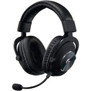 CASQUE AVEC MICROPHONE Casque gamer Logitech PRO X Gaming Headset Noir •