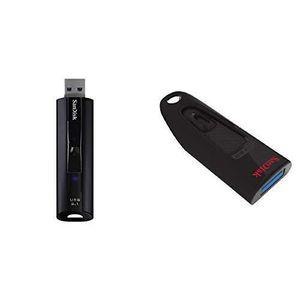 CLÉ USB Clé USB 3.1 SSD SanDisk Extreme Pro 128 Go &  USB