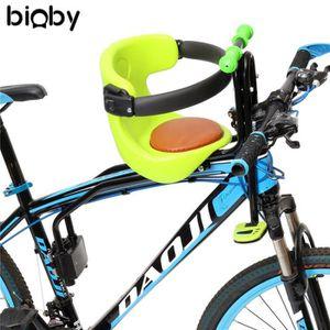 Amovible S/écurit/é Si/ège Avant Coussin de Selle avec Poign/ée et P/édale TETAKE Si/ège de V/élo Avant pour Enfant Si/ège /à Bicyclette Enfant