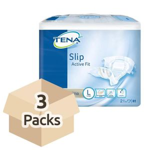 FUITES URINAIRES TENA Slip Active Fit Ultima (PE Backed) - Large -