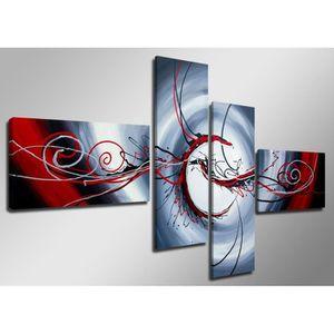 TABLEAU - TOILE Impression sur toile abstrait 6516-SCT peinture -