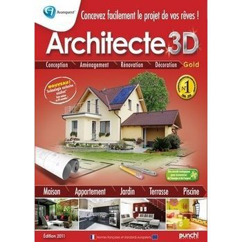 Architecte 3d gold logiciel pc de conception ar prix for Conception 3d appartement