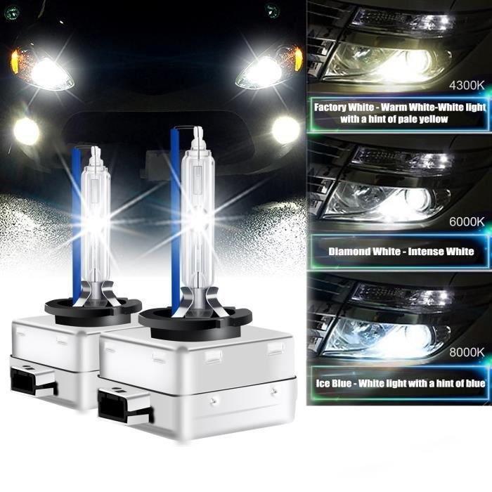 2 x Ampoules xénon D1S - 8000K