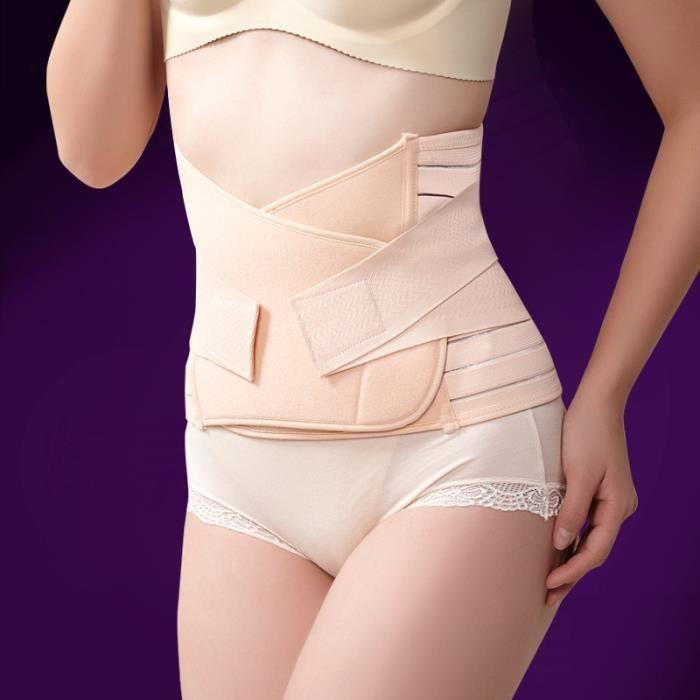 Ceinture abdominale-abdomen des femmes enceintes après l'accouchement, ceinture d'été respirante élastique L