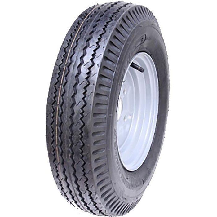 5.00-10 roue de la remorque, 4ply, grande vitesse, juridiques de la route, 355kgs, 500x10 72N, 5.00x10