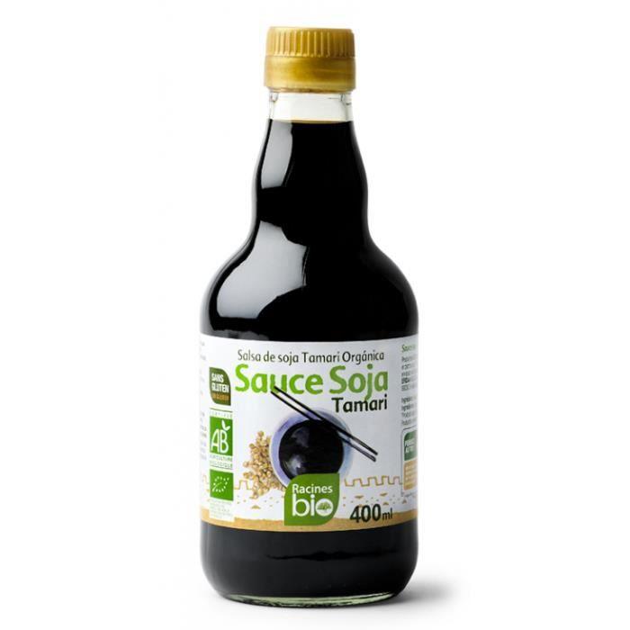 Sauce soja tamari sans gluten 400ml - Racines Bio