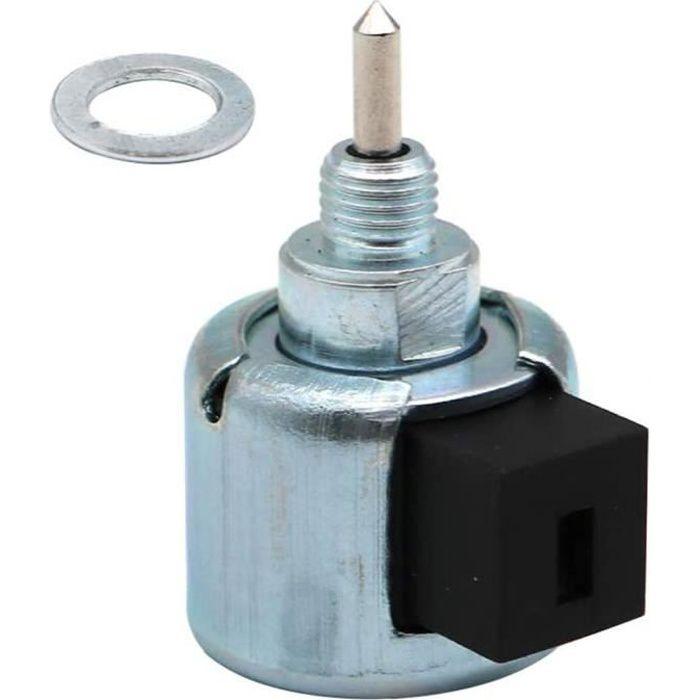 Carburateur Carburant Electrovanne Tondeuse arrêt de commande de remplacement Solenoid moteur Accessary