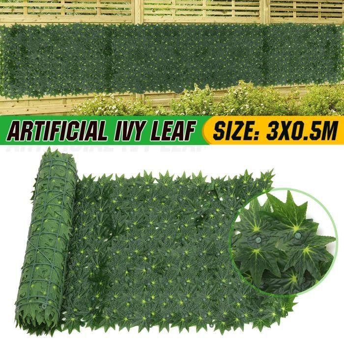 300cm Feuilles Lierre Artificielle Guirlande Vert Décoration Type-B