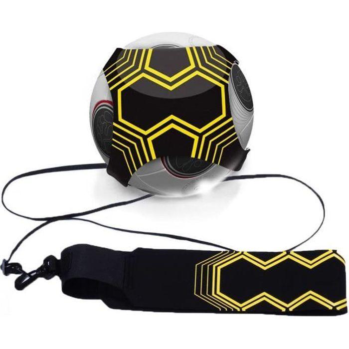 Football d'Entraînement Ceinture,Ballon de Football d'Entraînement avec élastique Ceinture d'entraînement pour Enfant et Adulte