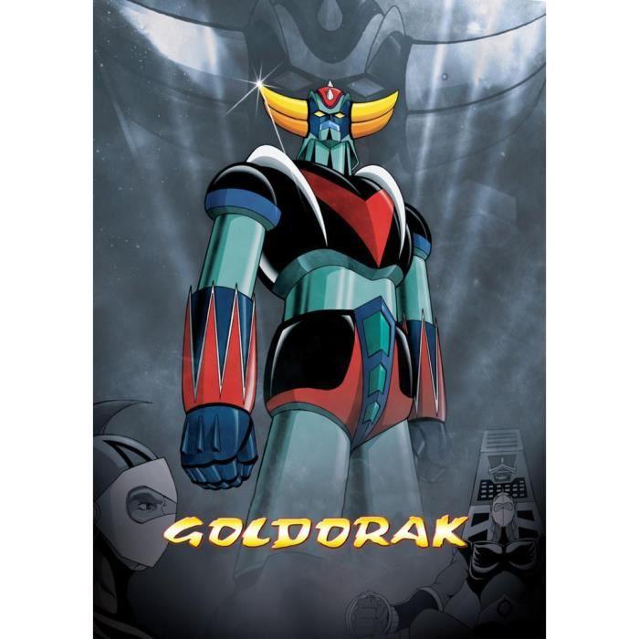 Poster Affiche Goldorak Couleur Hero Manga Robot Dessin anime 42cm x 59cm