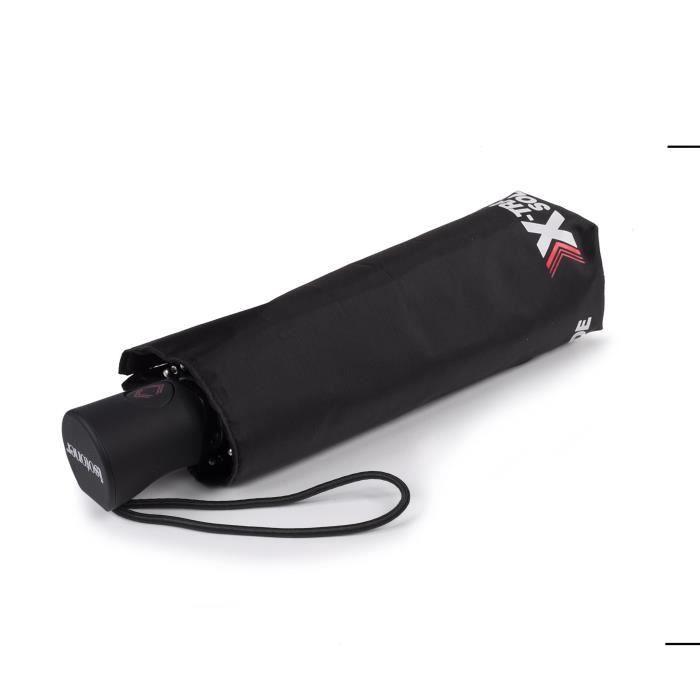 Isotoner Parapluie x-tra solide automatique noir femme