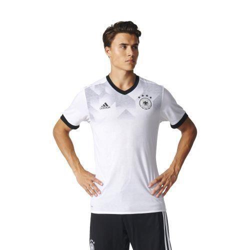 Adidas - Maillot d'échauffement de l'équipe d'Allemagne 2017-2018 - (blanc - XL)