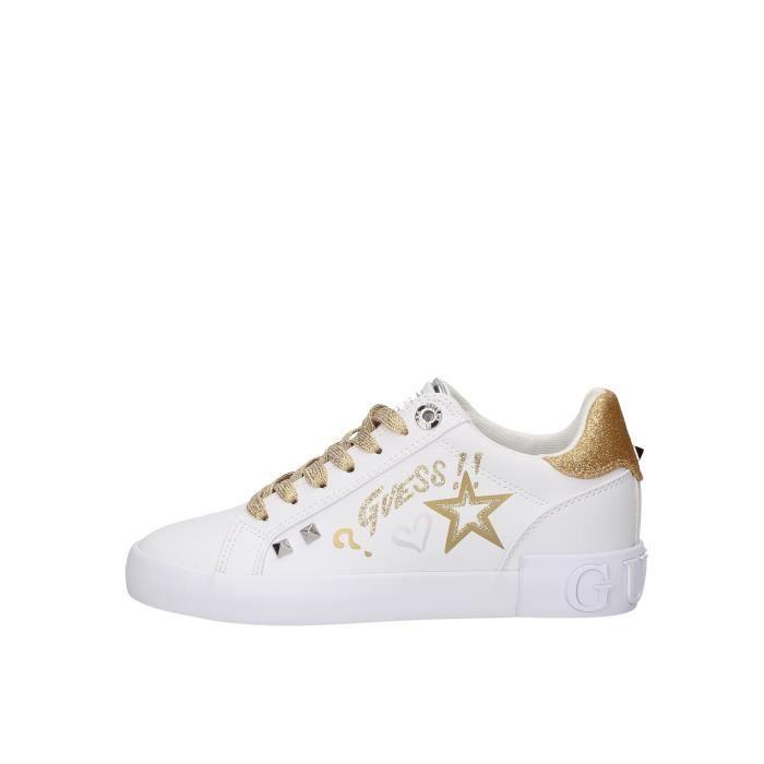 Guess FL5PRYELE12 chaussures de tennis Femme blanc