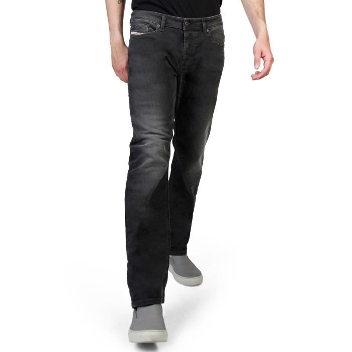 Diesel Jeans Gris Coupe Droite Waykee Grade R9f66